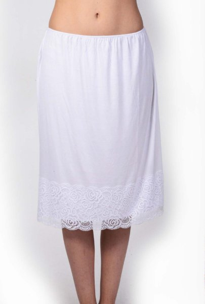 Lace band skirt