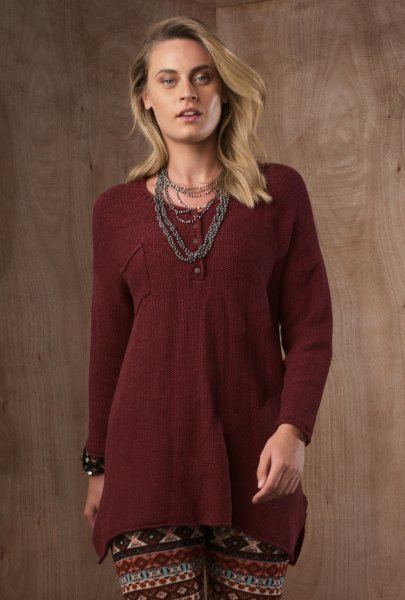 Botton tunic